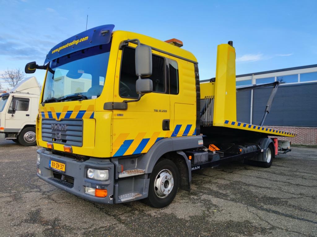 MAN TGL 12.220 4X2 Dubbele cabine Euro 5 - DGT 5502 - 2x Ramsey lier