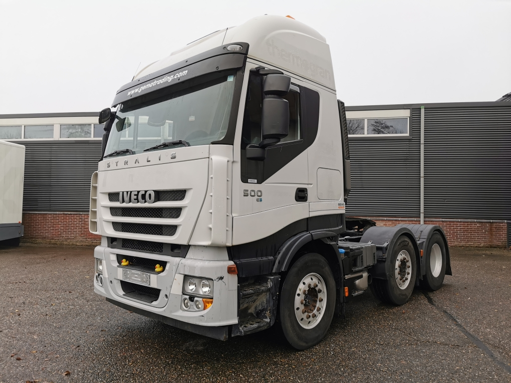 Iveco STRALIS AS440S50 6x2/4 EURO5 - Manual Gearbox - 317.000km Origineel