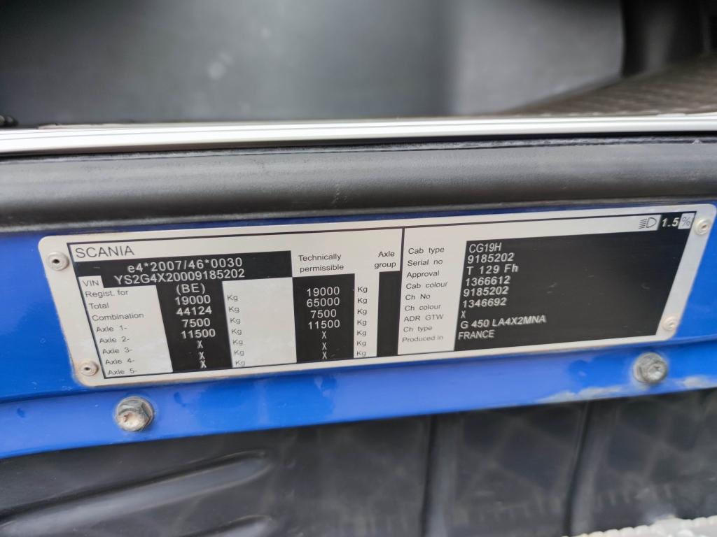 Scania G450 Highline 4x2 Euro6 - Retarder - KiepHydrauliek - StandKlima