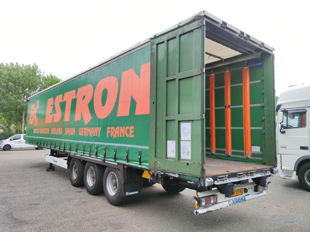 Krone SD - BPW-ecoplus - Schuifzeilen + Schuifdak - TUV XL - More then 30 units in Stock!