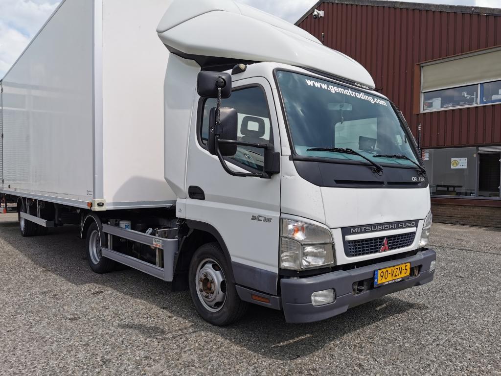 Mitsubishi CANTER 3C15 F Euro4 + NEFRA OPLR70L - 1000KG Laadklep -     06/2021 APK