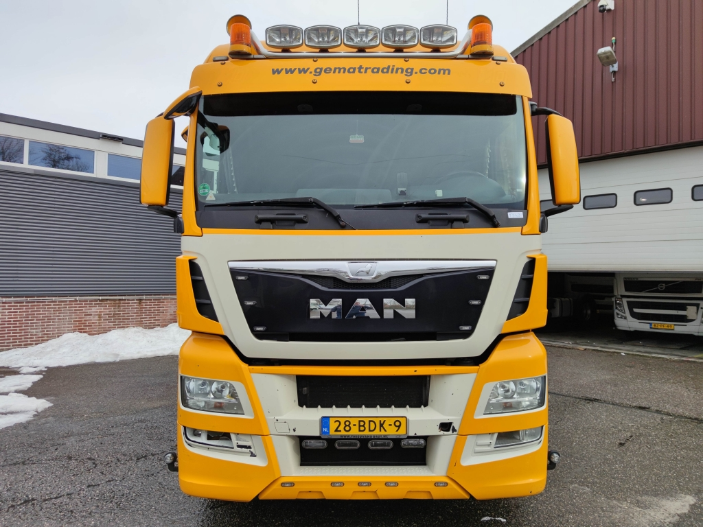 MAN TGX 24.440 6x2 XLX Euro 6 - WalkingFloor Hydrauliek