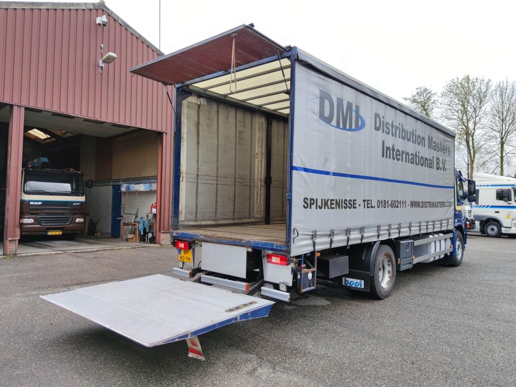 Volvo FM9-260 4x2 Dagcabine Euro3 - SchuifzeilenBak 7.55mtr - Laadklep 1500 kg - Rongen