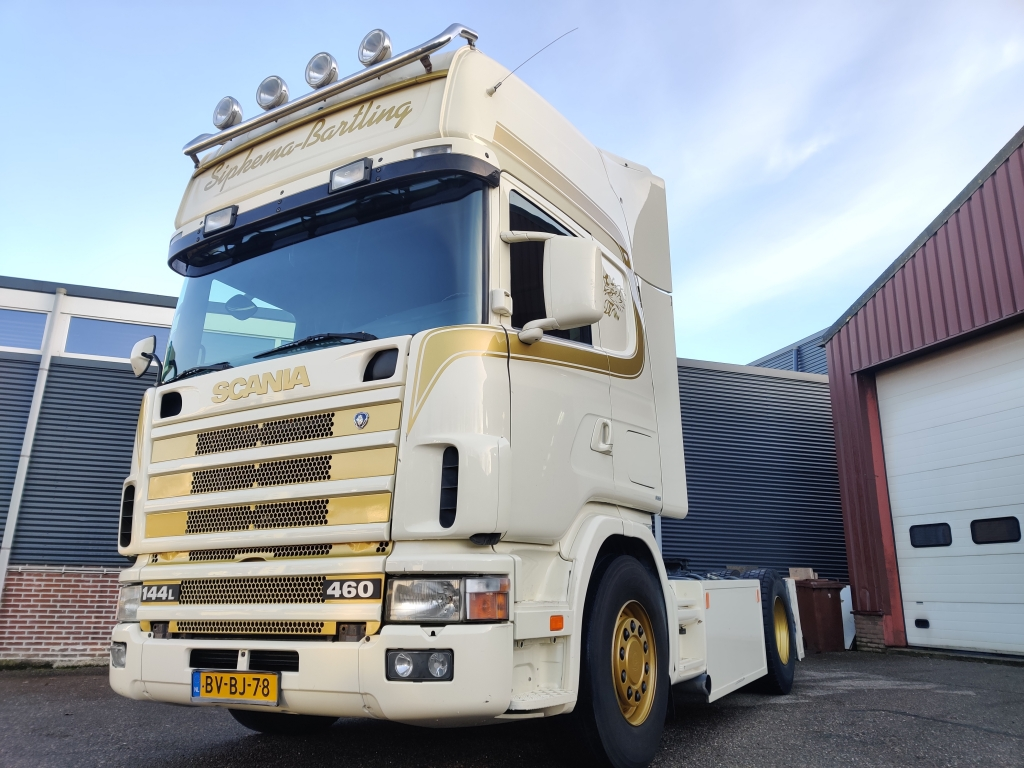 Scania R144-460 4X2 Topline Euro2 - Retarder - Low mileage - Side Skirts 2/2020APK