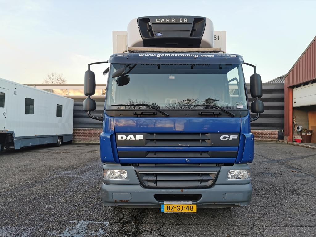 DAF CF 65.220 4x2-Euro 5- Koel/vriesbak 8,10m - Carrier Supra 950mt - 2000 kg laadklep 03/2021 APK
