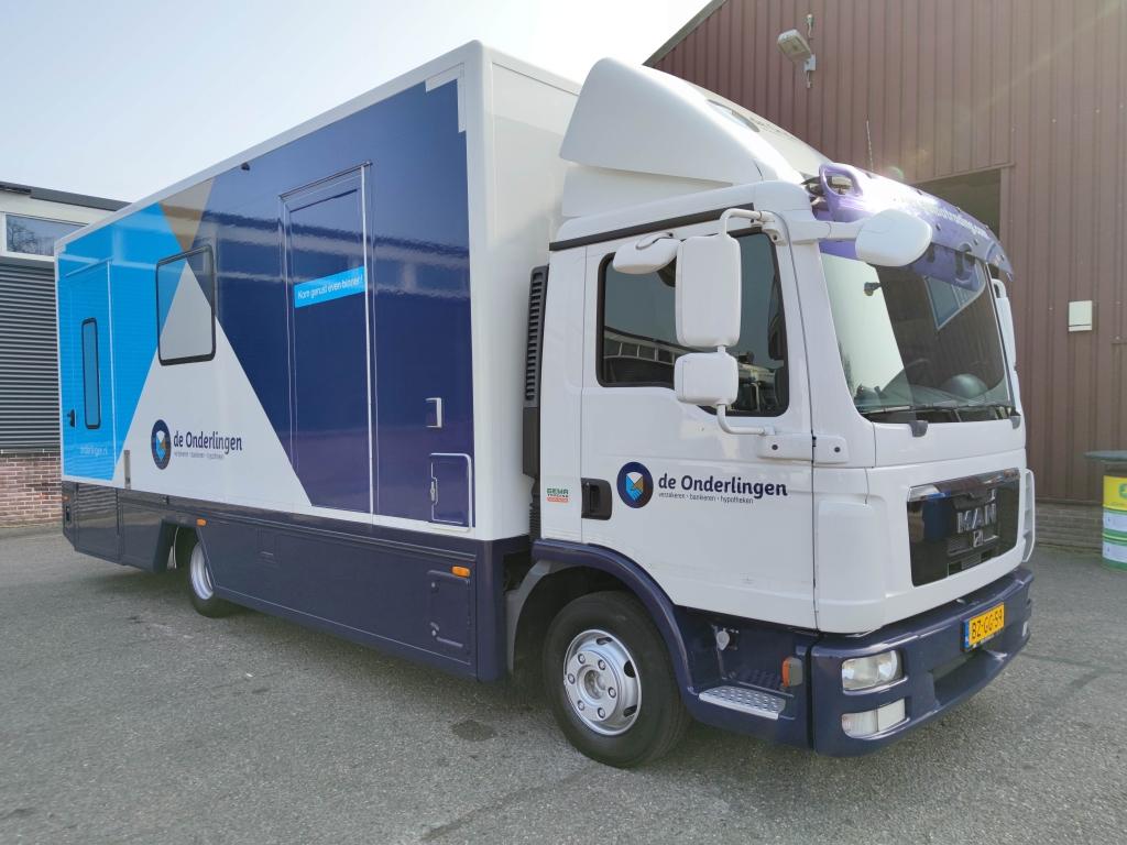 MAN TGL 8.180 4x2 Dagcabine Euro5 - Mobile Office / Camper - Construction 2018