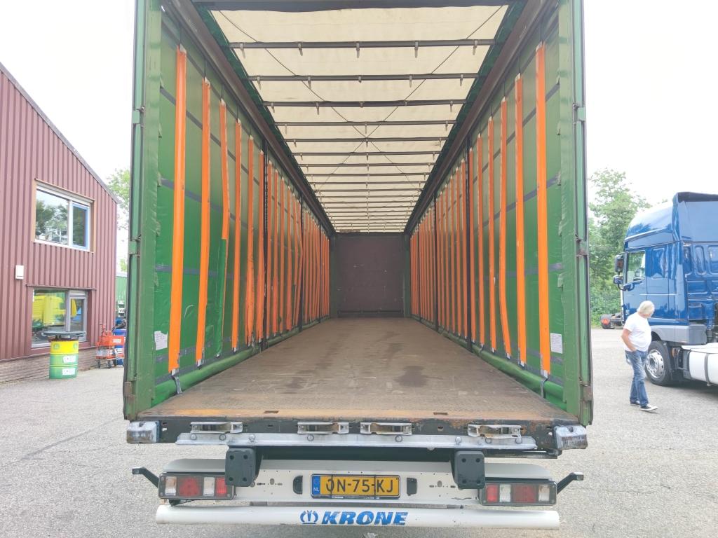 Krone SD - BPW-ecoplus - Schuifzeilen + Schuifdak - TUV XL Curtains with Alumium Slats