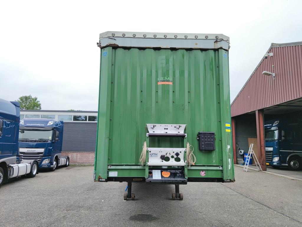 Krone BPW-ecoplus - Schuifzeilen + Schuifdak - TUV XL - Meerdere uitvoorraad leverbaar! 01/2022 APK