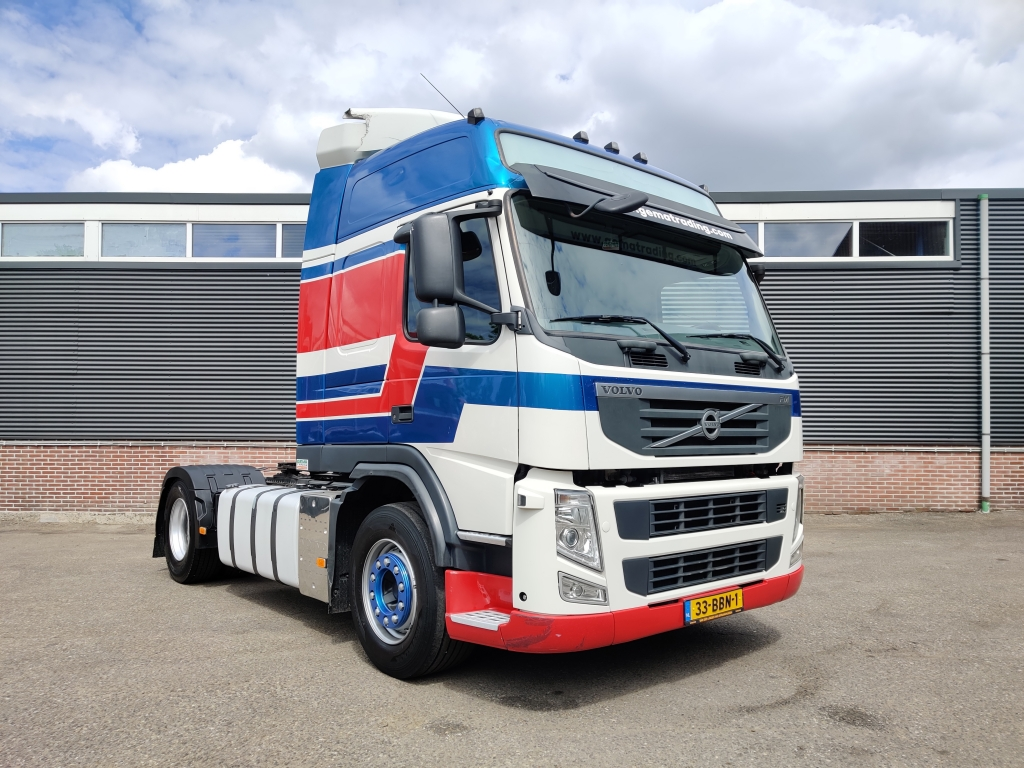 Volvo FM 370 4x2 Globetrotter Euro5 - Aluminium Tank - Banden gem 80%