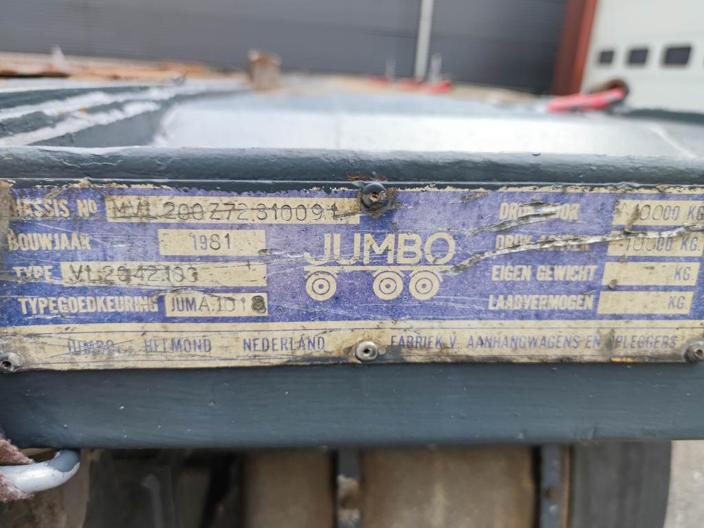 Jumbo VL 20.42.100 2-Assen BPW Bladgeveerd 6m - 01/2022