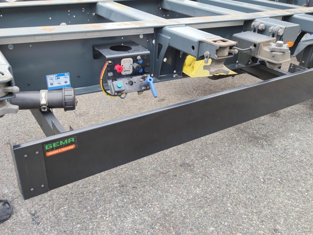 Kögel PORT 40 SIMPLEX 20 S 24-2 SAF - Discbrakes - Lift axle - 04/2022 APK