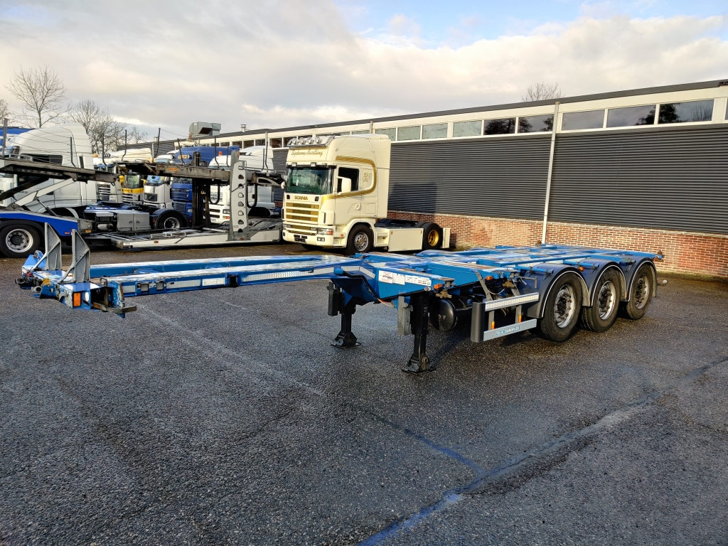 D-TEC EUROFLEX 3 Assen MB - Schijfremmen - Lift-as
