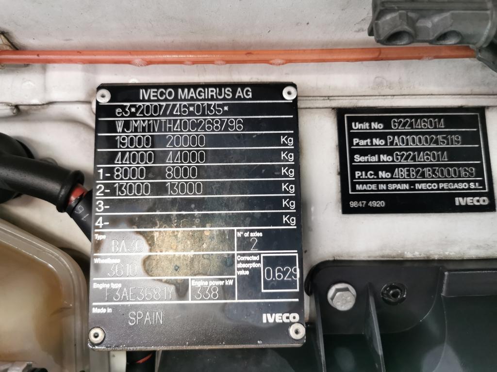 Iveco STRALIS AS440S46 4x2 EEV Euro5 - Tires 80% - Fridge