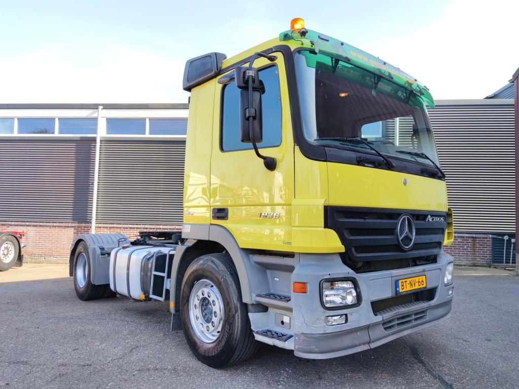 Mercedes-Benz ACTROS 1836 4x2 Euro 5 - Manual Gearbox - 88.000km !!! - 08/2021 APK