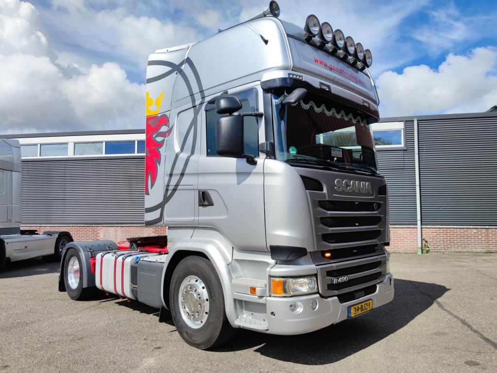 Scania R490 Topline 4x2 Euro 6 - Retarder - 2 tanks - StandKlima - Alcoa's - TOP! - 09/2021 APK