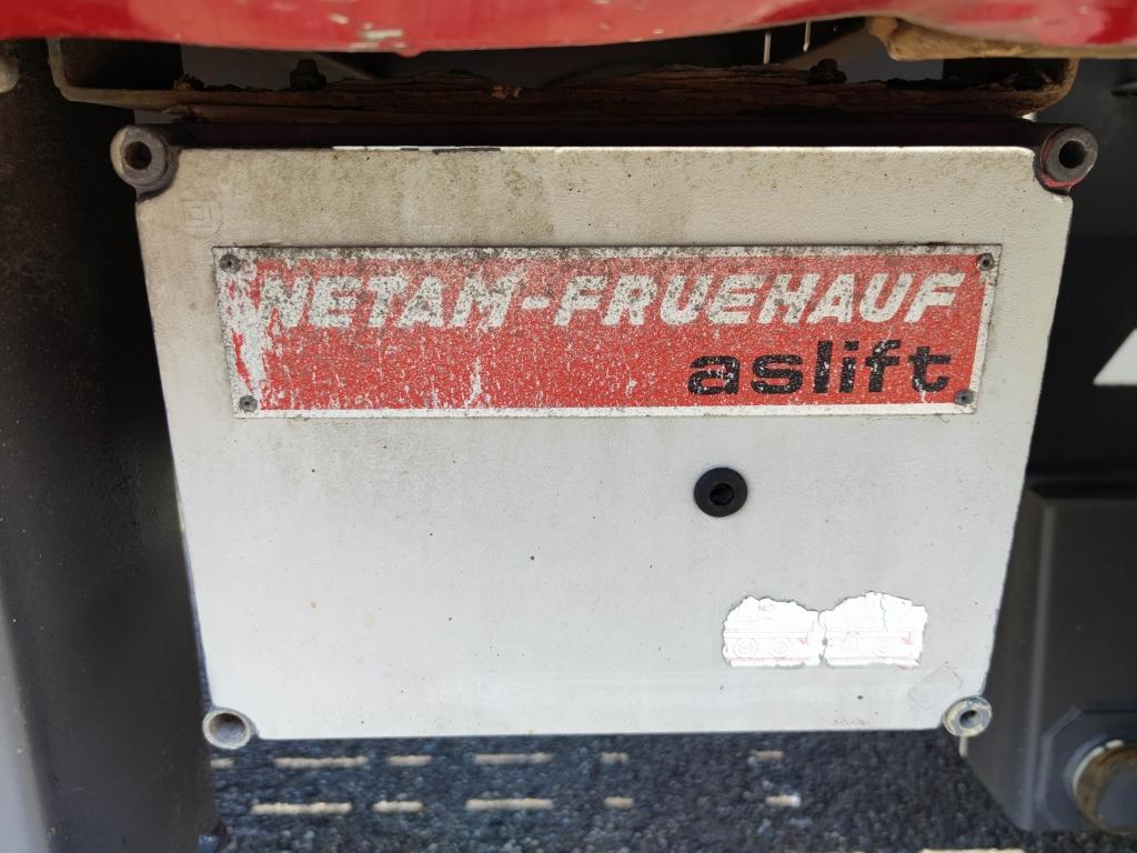 Netam Fruehauf ONCRK 30-218A 12.60M 1 LiftAs - 1 StuurAs - Rongpotten