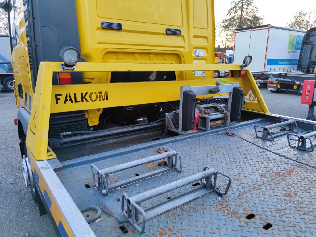 MAN TGM 12.250 4X2 DubbelCabine Euro5 - Manual - FALKOM FAS5000 - FAL2000 - SuperWinch3600 10/2021