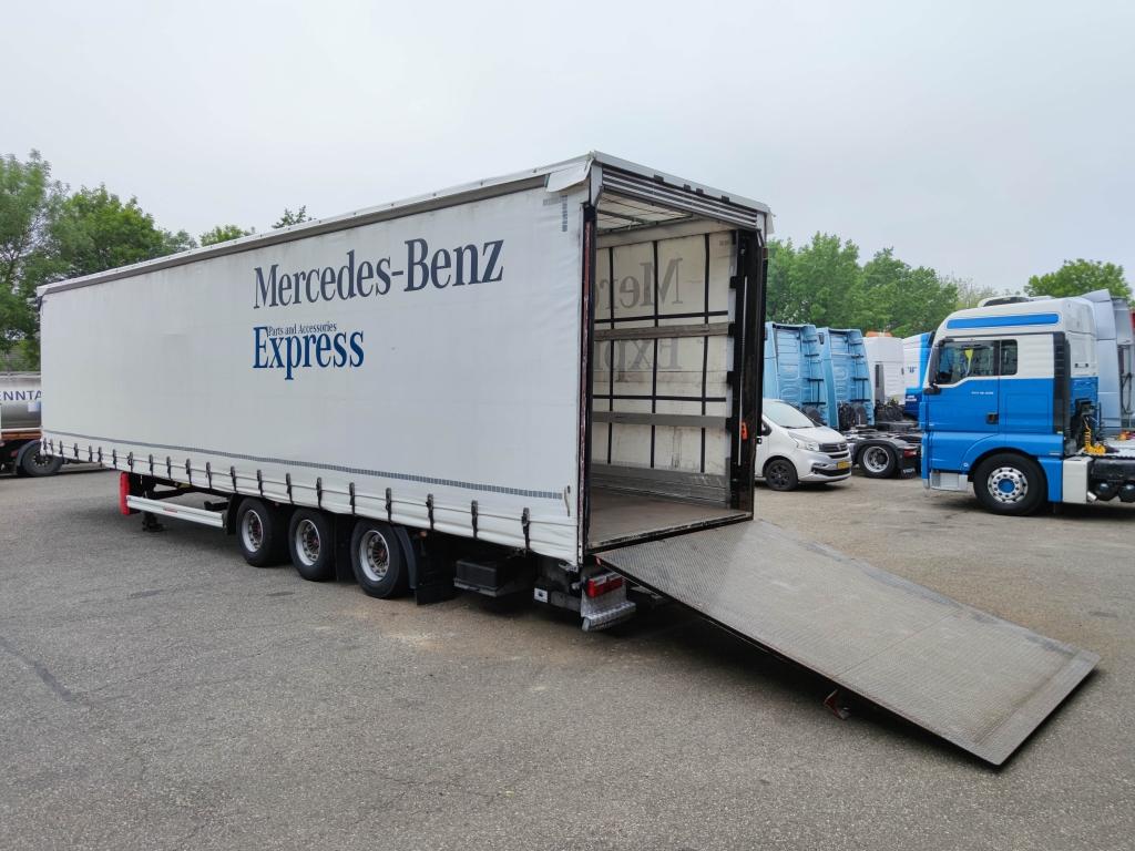 Kaessbohrer MEGA 3-Assen SAF - Schijfremmen - Schuifzeilen / Schuifdak - Achtersluitlaadklep 2500KG