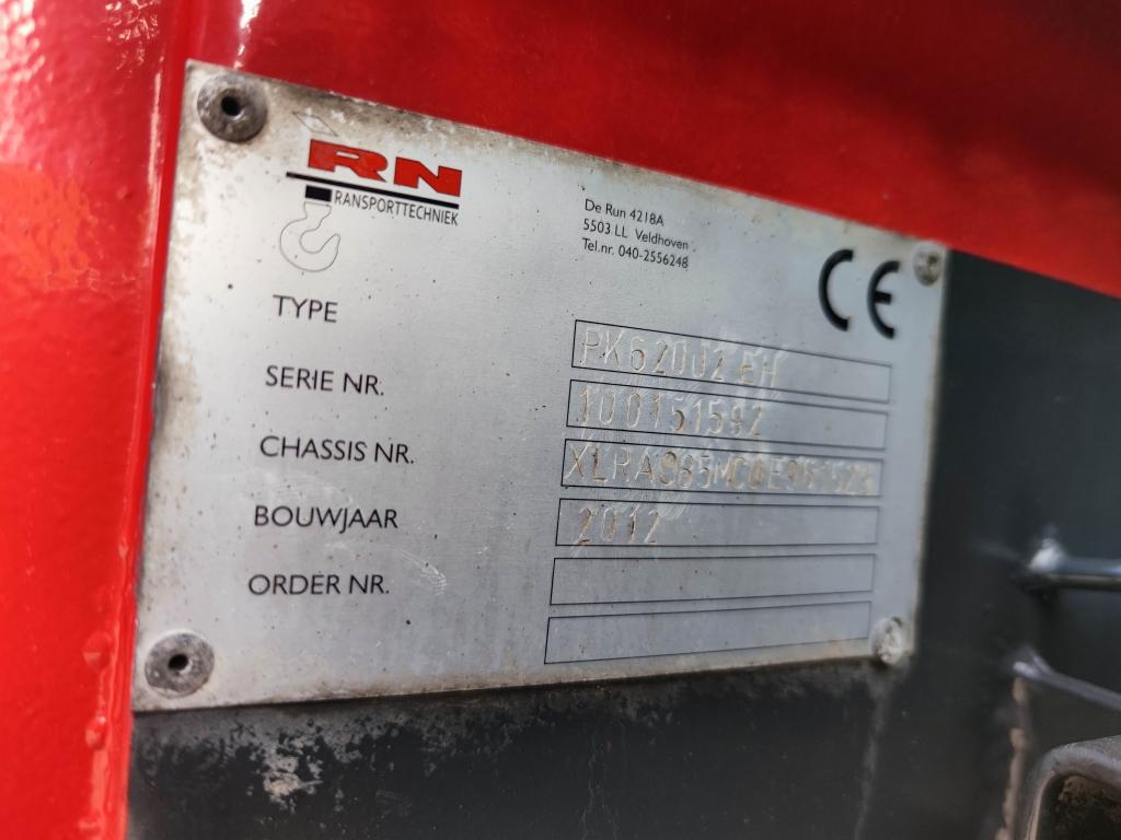 DAF FAC CF85-410 8x2/4  Spacecab Euro5 - Openlaadbak 6.30m +  Pallfinger PK62002 EH - TOP!