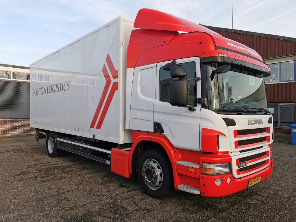 Scania P280 4x2 Highline Euro5 BDF-Systeem - ConfectieBak 7.25m - Vangmuilkoppeling
