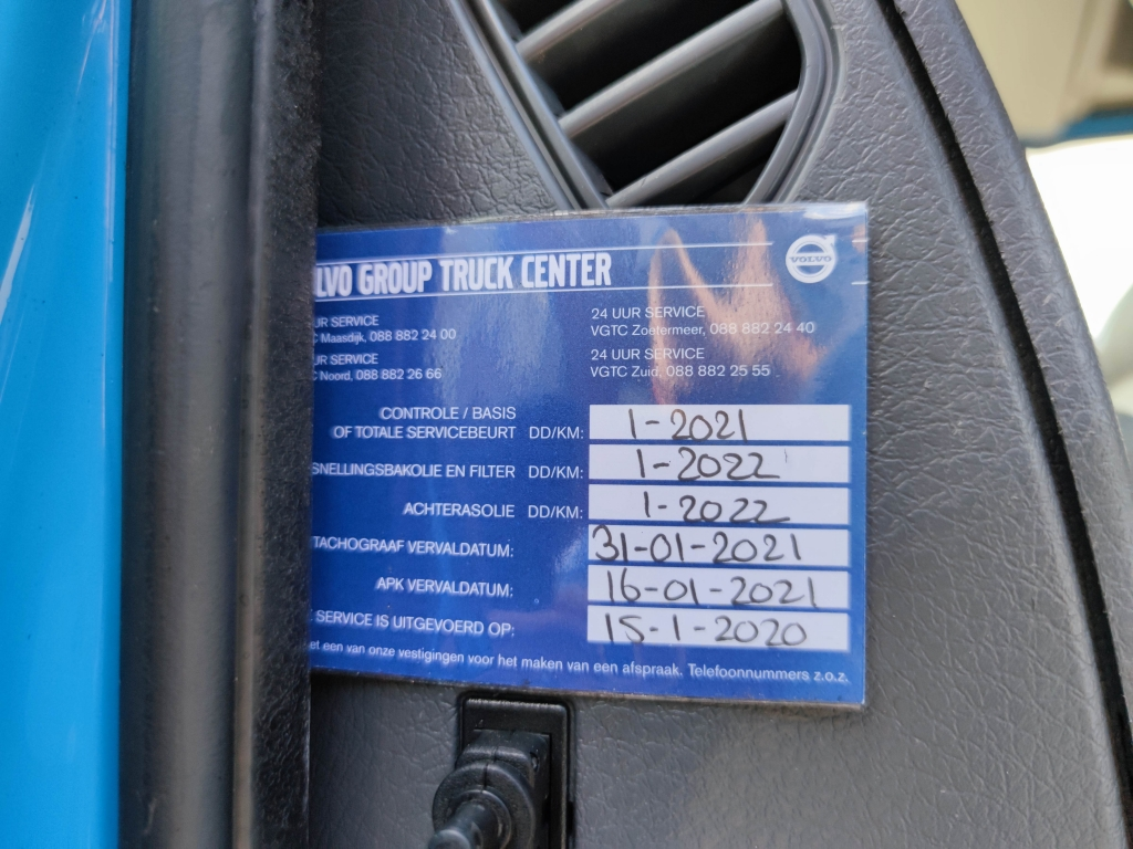 Volvo FE300 6x2/4 HalveSlaapCabine Euro 5 - Manual - Translift kettingsysteem 24T - TRS powerunit - 02/2022 APK