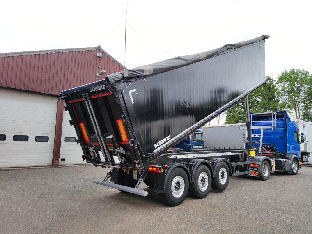 Schmitz Cargobull SKI 24 SL 9 - 52m³ Aluminium Kipper - bandendruksysteem - Alcoa's - TOP!