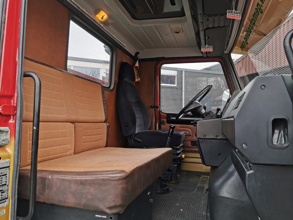 Scania T142HL Torpedo 6x2 V8 - Originele Sleepas Trekker - Schuifschotel - Bladgeveerd
