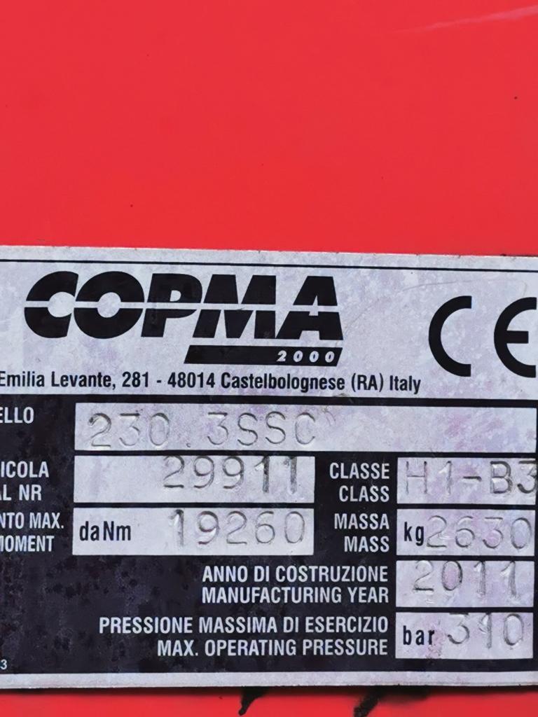 DAF LF55-180 4x2 Euro5 EEV - Kraan Copma 230.3SSC - Lepel FALKOM FAW 3000 - Lier VIME EPH 3600
