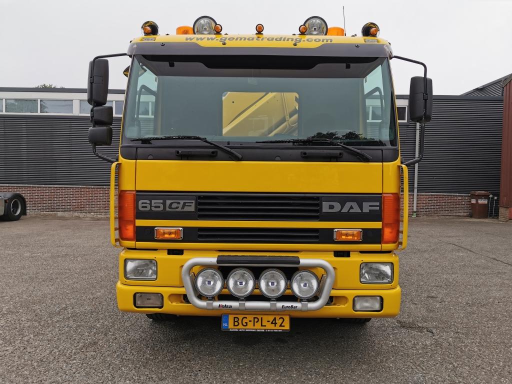 DAF CF65-250 4x2 Euro2 - Falkom FAW7500 - Pallfinger PK19000-3 - ABOMA 02/2021 !
