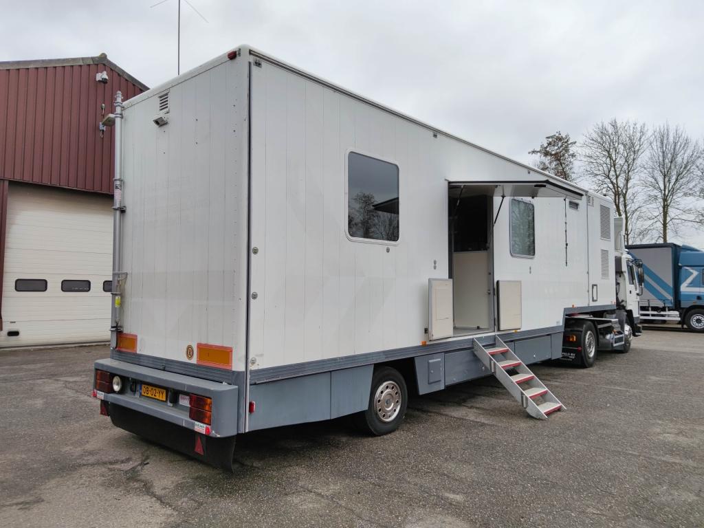 Volvo FL7-4X2T Dagcabine Euro2 107.000km! + Camper - Kantoor Trailer met Aircos en Aggregaat
