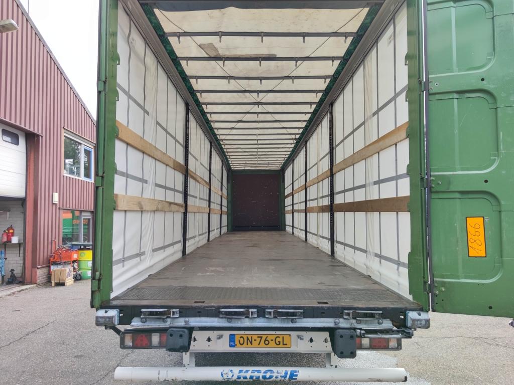 Krone SD - BPW-ecoplus - Schuifzeilen + Schuifdak - Nieuwe Zeilen