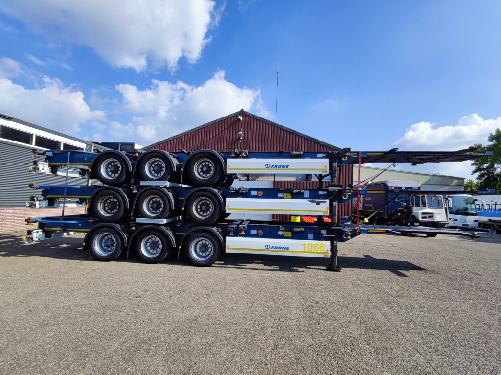 Krone SD - 3 assen BPW - All Connections - 12 units in stock