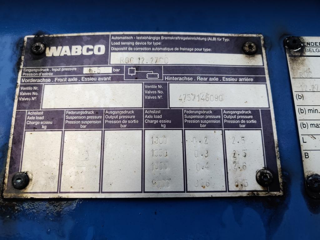 Renders ROC 12.27 3 assen BPW  - Trommelremmen - Lift-as - Uitschuifbaar Achter 07/2020APK