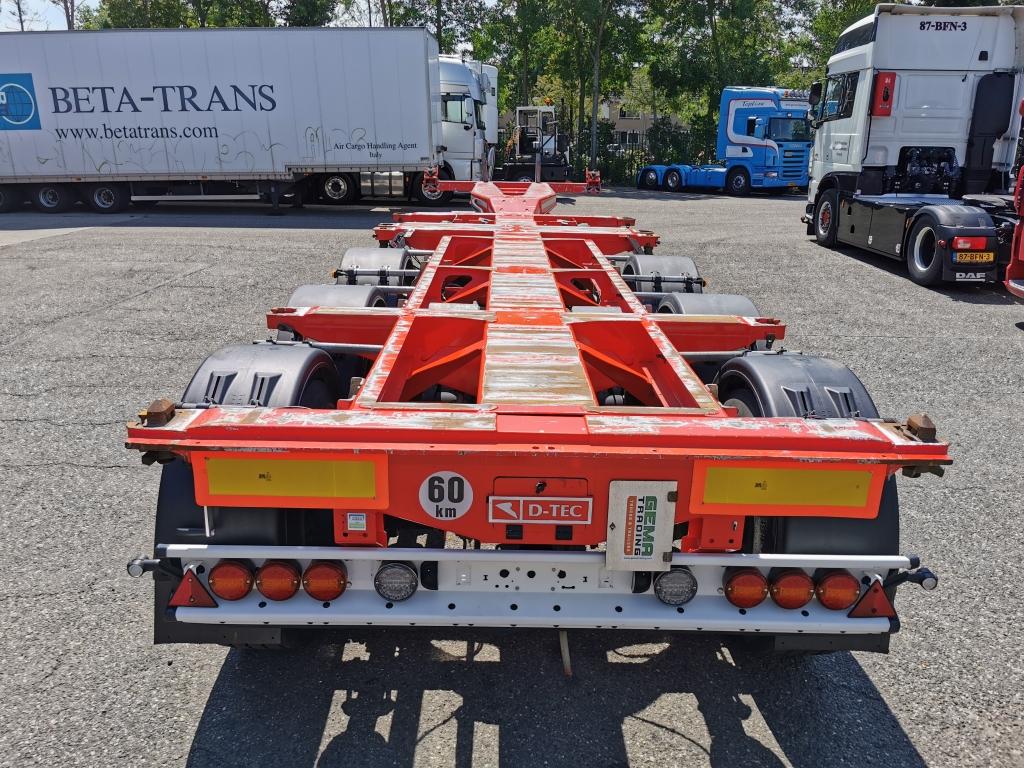 D-TEC FT-HD-S + ADR 3 assen SAF - Schijfremmen - Lift-as - Slangenkoker - Heavy Duty