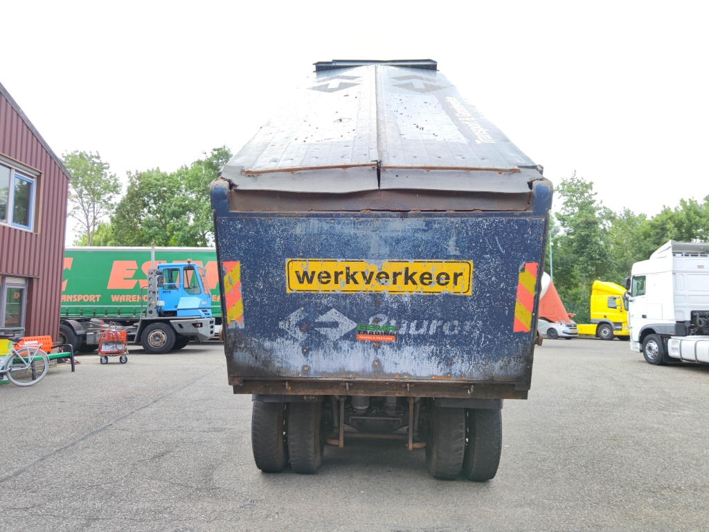 Mercedes-Benz ACTROS 5041 AK 10x8 Euro 5 - Tipper 24 M3 - MilieuKleppen - Hardox