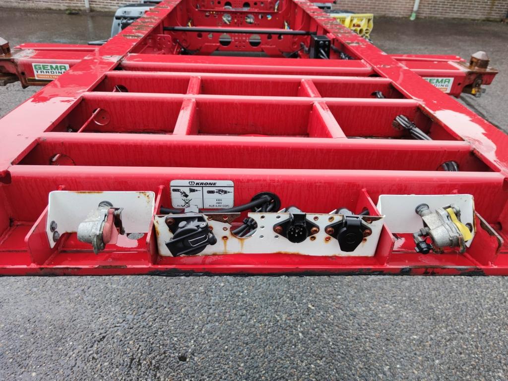 Krone SD 3-Assen BPW - Schijfremmen - Lift-as - 20FT - 10 Stuks op voorraad!