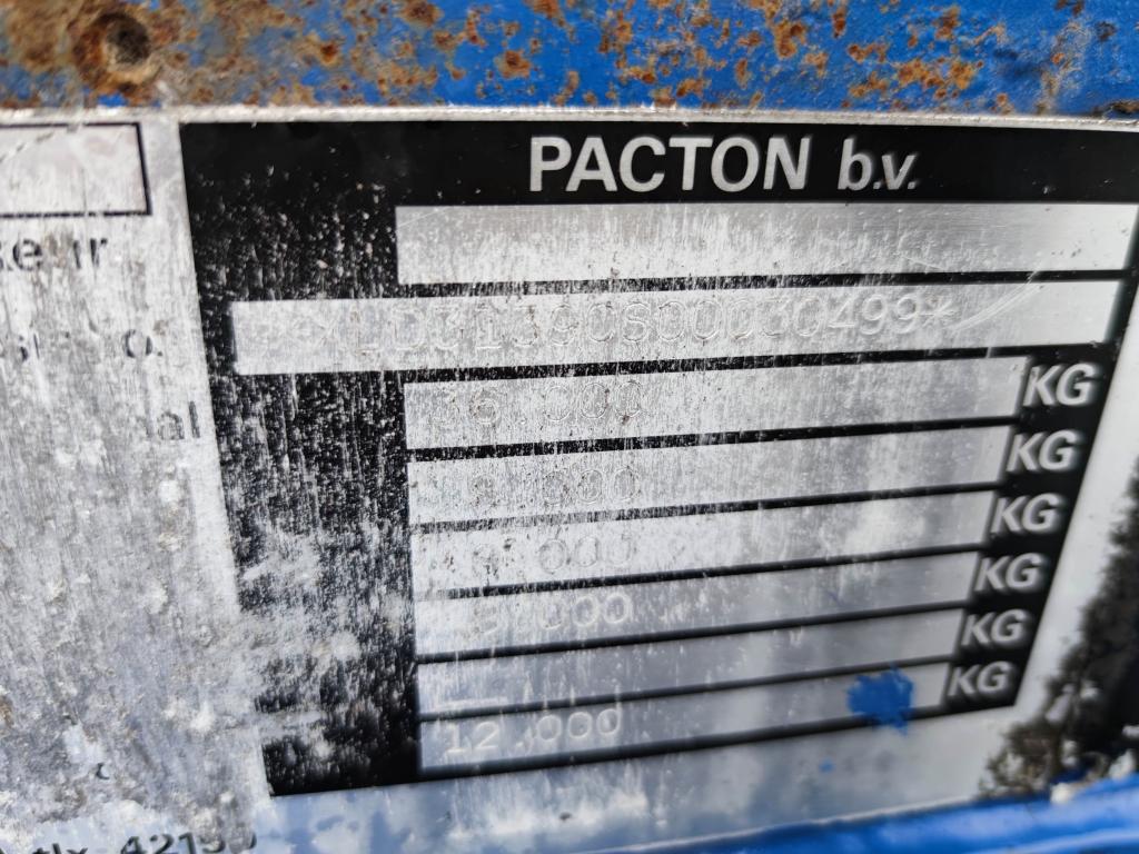 Pacton 3139 CS - 3 Assen ROR - Trommelremmen - STEEL SUSPENSION