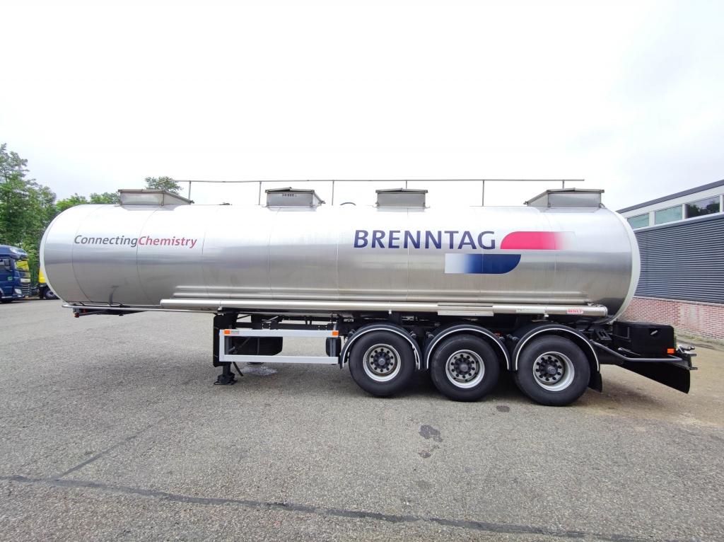 Nicodeme ET39T Chemie Tank - Geisoleerd - ABS - 30.000L