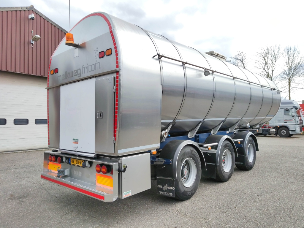 Burg BPO 1530 RGZXX - FOOD - 35.400L - Pump Hoses -2 liftaxle - 2 steering axle