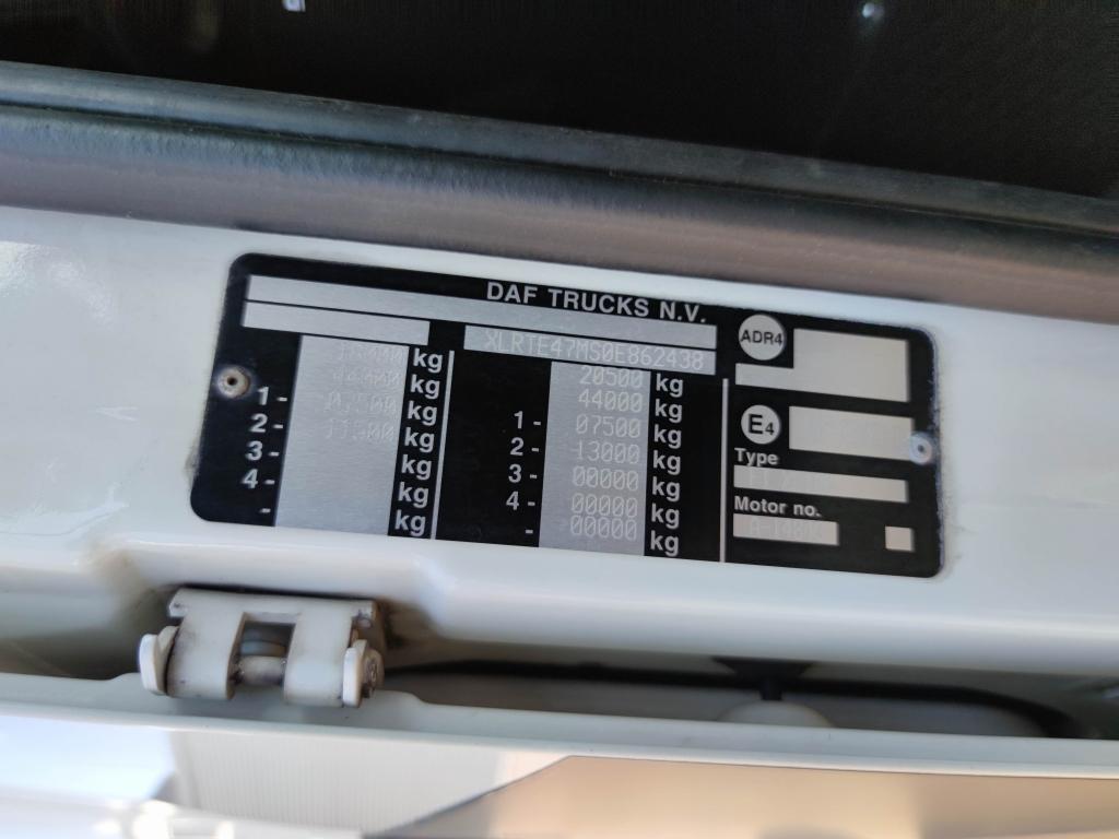 DAF FT XF105.460 Spacecab 4x2 Euro 5 - Retarder - Alcoa's - 08/2021 APK