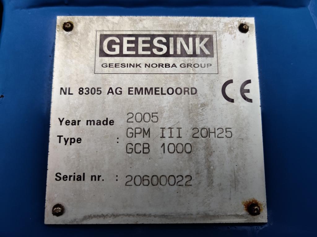 DAF CF 75.250 4x2 Euro3 -  Handgeschakeld - Geesink GPM III 20H25 GCB 1000 - Airco - TOP!