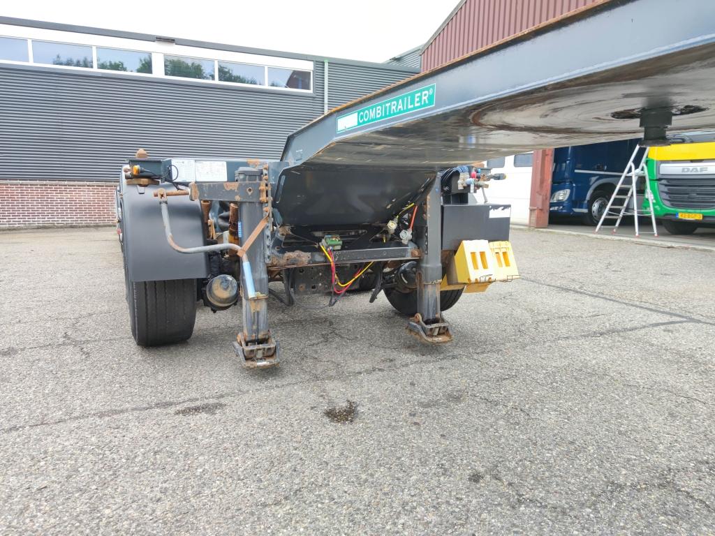 D-TEC CT-51-04D + CT-35-02  - 2 + 2 COMBI chassis - 3 StuurAssen - 2 liftAssen - Gegalvaniseerd! Roest vrij! TOP!