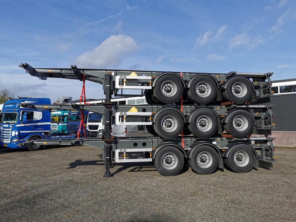 Van Hool A3C002 20FT 30FT - TANK SWAP - ADR - NEW / UNUSED - 2 stuks