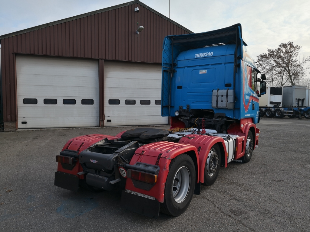 Scania R440 6x2/4 Highline Euro5 - Opticruise 3 pedalen - Standairco