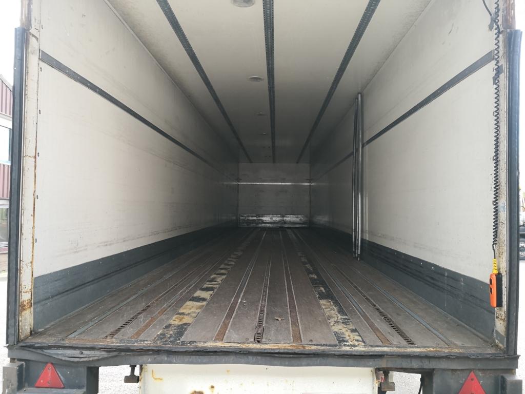 Groenewegen DRO-12-10 1-AS 12.60m Tridec Gestuurd - Achtersluitklep 2000kg