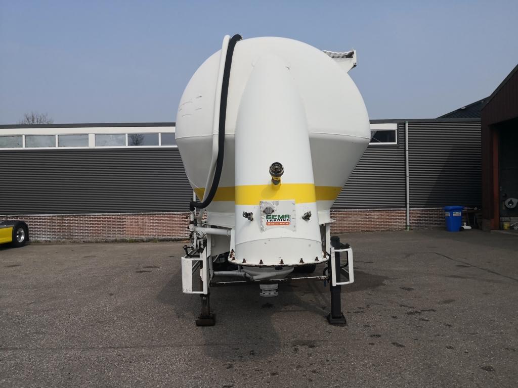 Feldbinder EUT 36.3   3-Assen BPW - Voll Alu - 36 CUB - TOP!