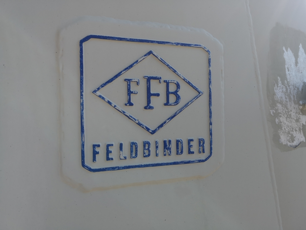 Feldbinder TSA 20.3 3-assen BPW - 20.000L - Voll Alu -