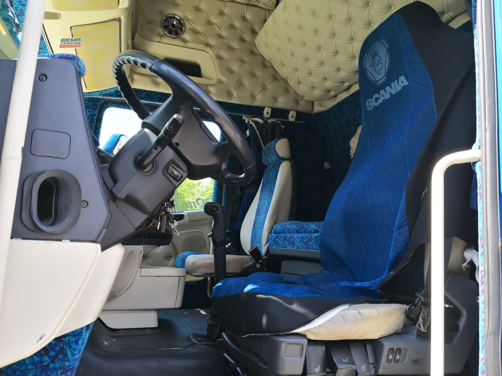 Scania R 480 4x2 Topline Euro4 - Retarder - Special interior -