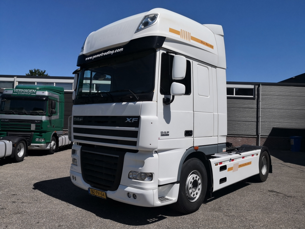 DAF FTP XF105-460 6x2 SuperSpaceCab - Euro5 - 2 tanks - 01/2020 APK