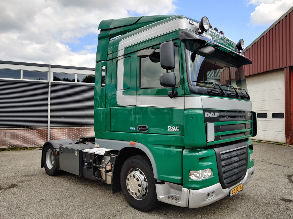 DAF FT XF105.410 SpaceCab 4x2 Euro 5 ATe- Fridge - 1/2020 APK